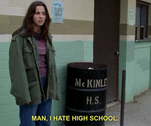 hate, freaks and geeks, and high school image
