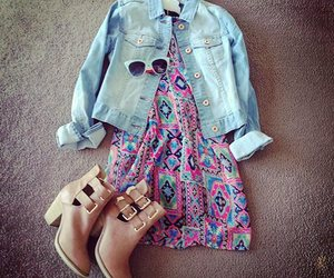 boots, denim jacket, and outfit image