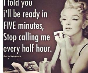 Marilyn Monroe, funny, and quote image