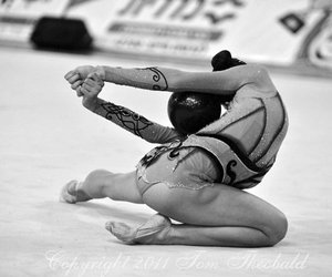 ball, elegance, and gymnast image