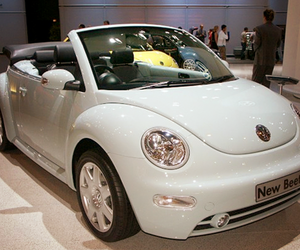 white, beetle, and car image