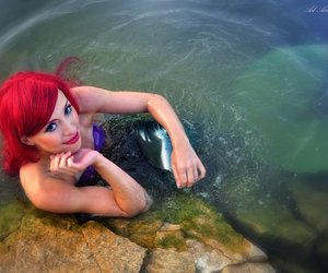 ariel, cosplay, and costume image
