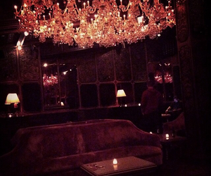 ambience, bar, and chandelier image