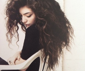 lorde, hair, and music image