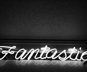 fantastic, light, and neon image