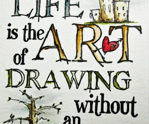 art, life, and quote image
