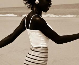 Afro, ocean, and black image