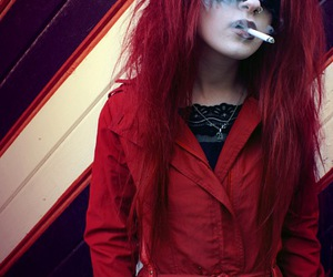 blind, smoking, and gorgeous image