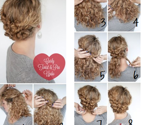 hair, cute, and tutorial image