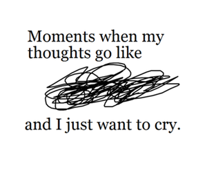 cry, quote, and moment image