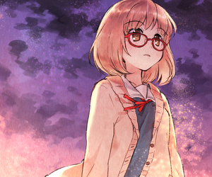 anime, kyokai no kanata, and anime girl image