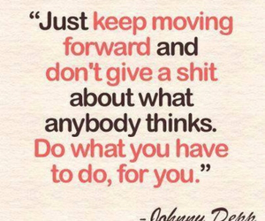 quotes, johnny depp, and text image
