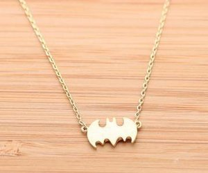 necklace and batman image