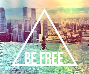 be free, city, and hipster image