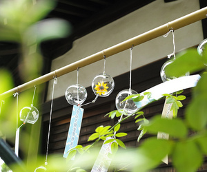 chime, chimes, and daisy image