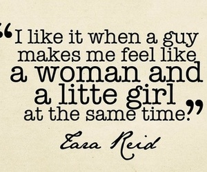 quote, woman, and guy image