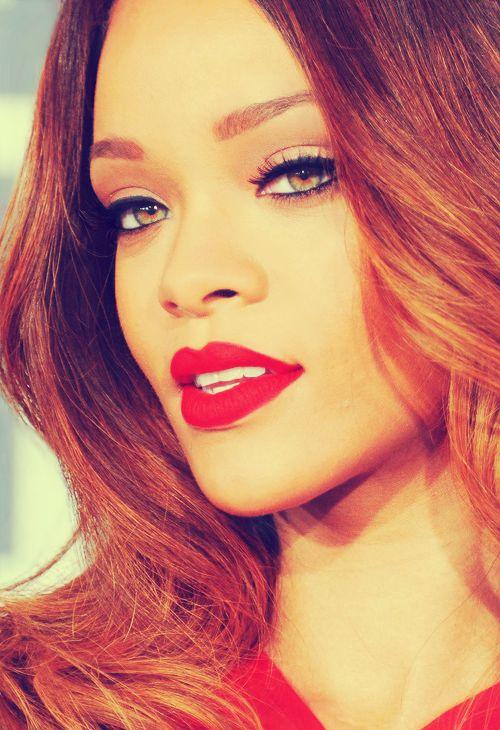 beautiful, la, and red lips image