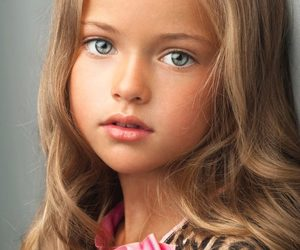 blue eyes, girl, and kids image