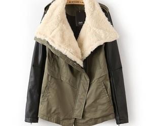 coat, jacket, and winter image