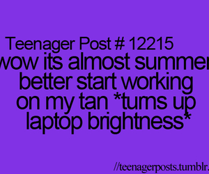 laptop, summer, and post image