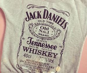 jack daniels, fashion, and shirt image