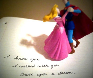 disney princess, typography, and love image