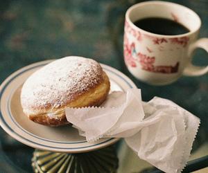 coffee, food, and vintage image