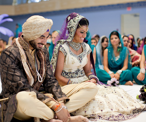 groom, sikh, and smile image