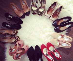 fashion, girly, and heels image