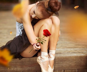 ballet, rose, and dance image