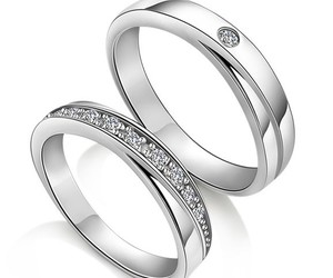 weddings, couple rings, and promise rings image