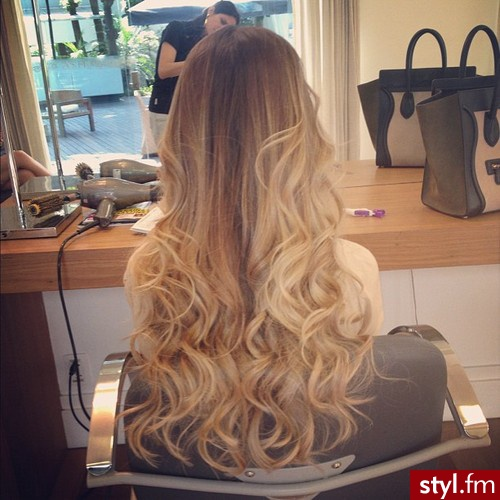 blonde, waves, and wavy image