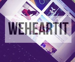 it, we heart it, and weheartit image