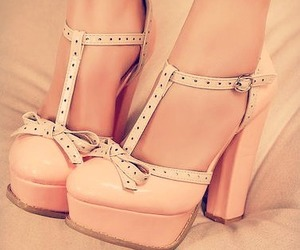 girly, cute, and heels image