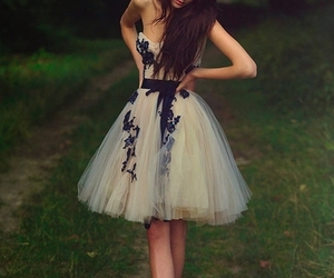 dress, girly, and girl image