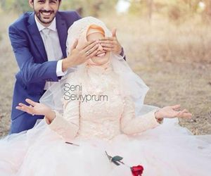 Dream, muslim couple, and couple image