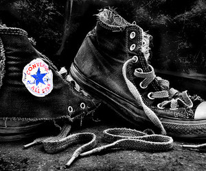 converse, old, and photography image