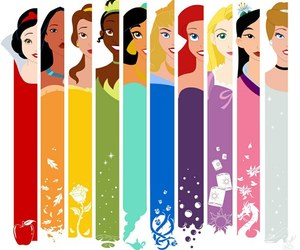colorful, disney, and girls image