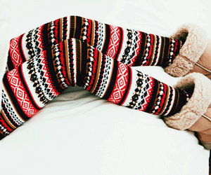 fashion, winter, and leggings image