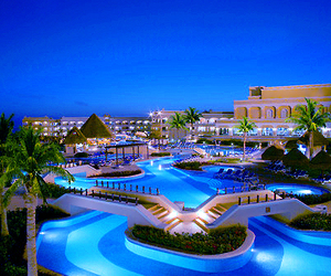 hotel, pool, and beach image