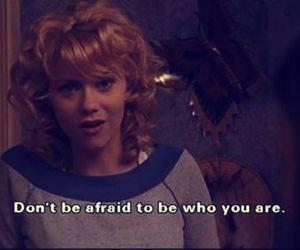 afraid, be yourself, and one tree hill image