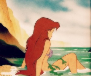 art, movie, and the littlemermaid image