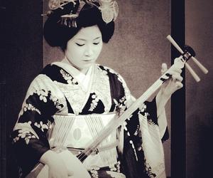 geisha, maiko, and music image