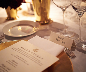 luxury, ralph lauren, and dinner image