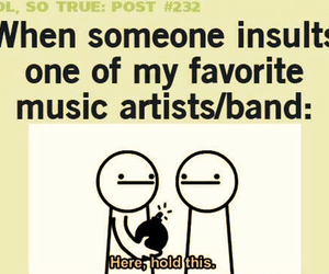 band, funny, and music image