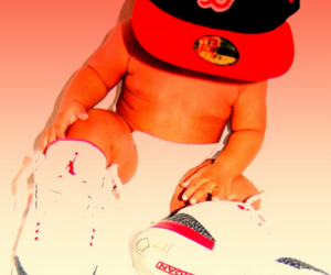 baby, swag, and cap image