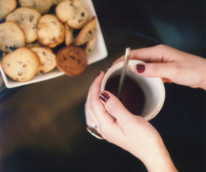 Cookies, coffee, and tea image