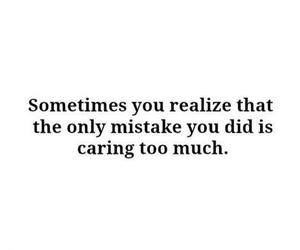 mistake, caring, and life image
