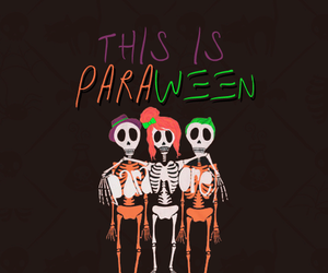 Halloween and paramore image