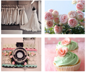 camera, cupcake, and dress image